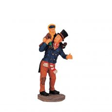 Bob Cratchit And Tiny Tim, padre e figlio, 02403 Lemax
