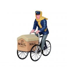 Mail Delivery Cycle, portalettere in bicicletta, 22054 Lemax