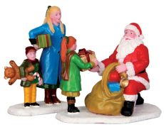 Presents From Santa Set Of 2, regali da babbo natale, 42245 Lemax
