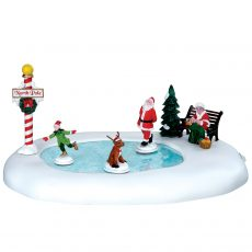 North Pole Ice Follies, pattinaggio al polo nord, 64045 Lemax
