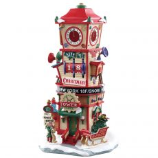 Countdown Clock Tower, torre con orologio, 73333 Lemax