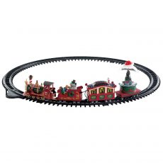 North Pole Railway, trenino del polo nord, 74223 Lemax