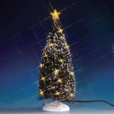 Clear Light Evergreen Tree, Large